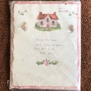 """Slate walk hanging, """"Bless This House,"""" NWT"""
